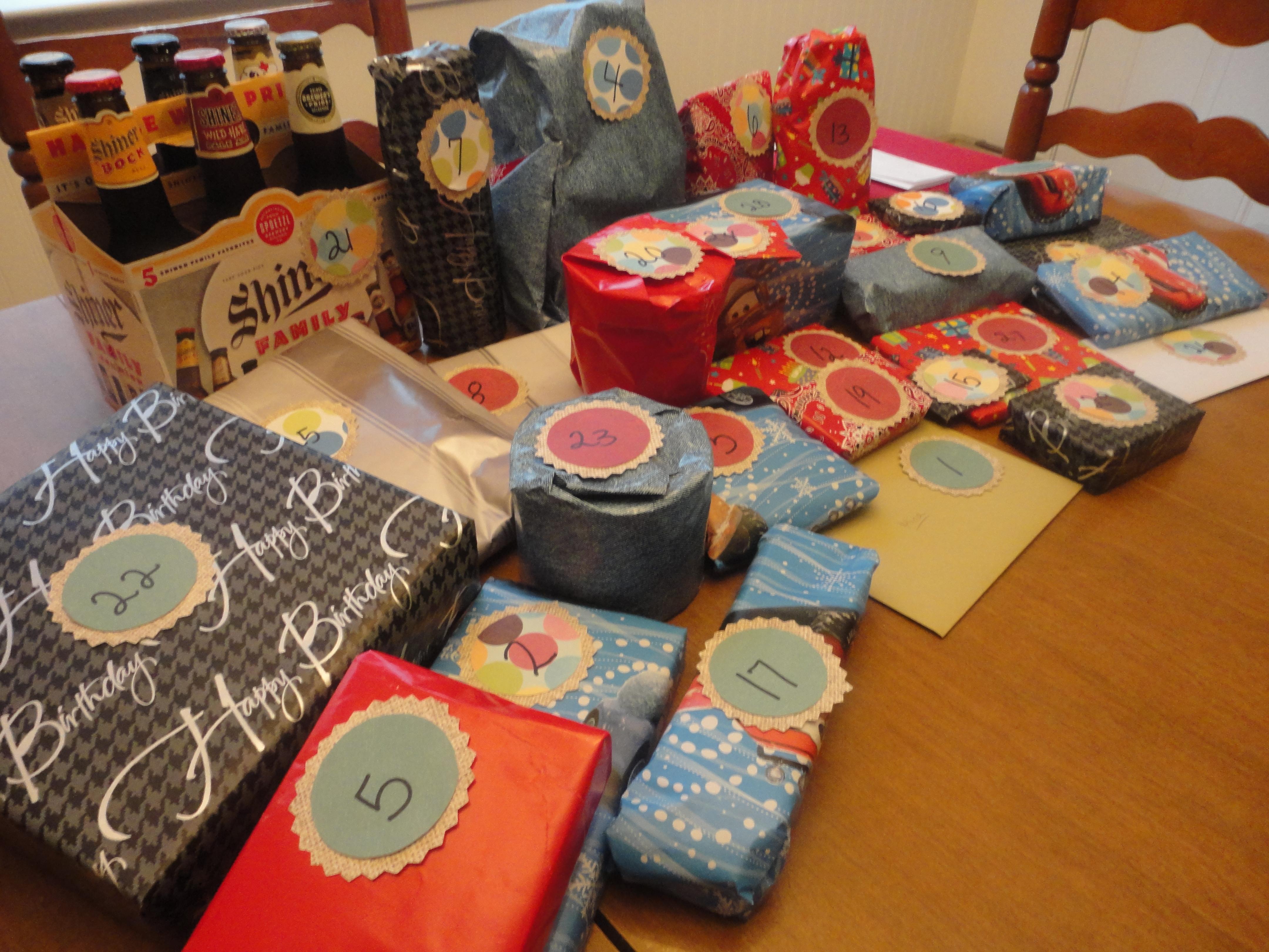30 лет идеи подарков мужчине