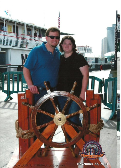 We went on a ride on the Steamboat Natchez. This was my husband's favorite part- I think because you got to go into the engine room and watch the steam engines work.