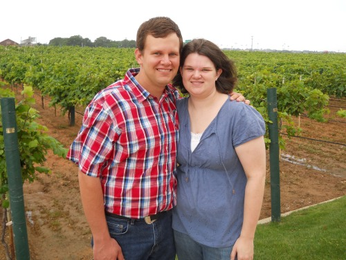 May 2011- Delaney Vineyards in Grapevine, TX